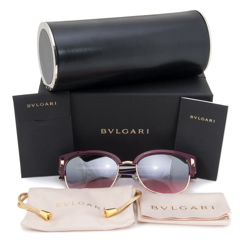 Bvlgari Sunglass | Square Style Red / Red Gradient BV8189 54267E 59MM