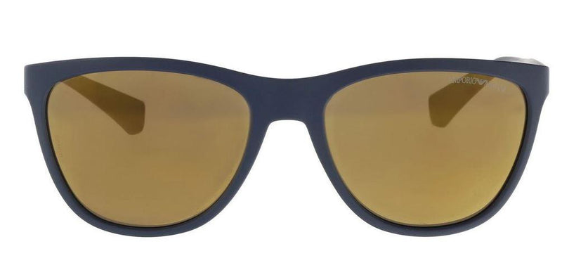 Emporio Armani Sunglass Cat Eye Style Brown Lens | EA4053 53686H 57MM