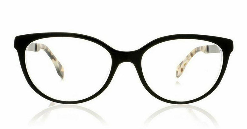 Fendi Eyeglass Cat-Eye Style RX-FF0079 53MM Crystal Black Pearl Optical Frame