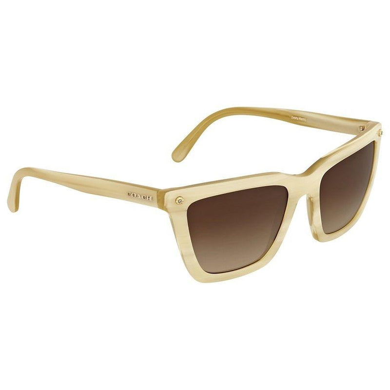 Coach Sunglass | Square Shape Unisex Brown HC8191 542313 56MM