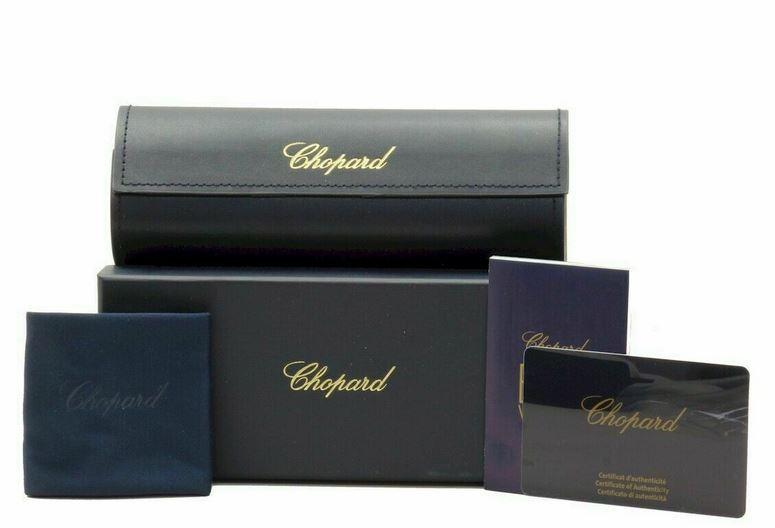 Chopard Women Sunglass SCH206S 0VAA 56 Black Violet Frame Brown Gradient
