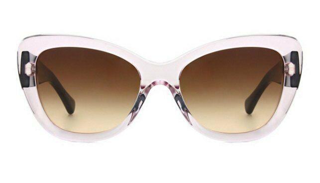 Coach Sunglass | Cat Eye Style Crystal Pink / Brown Gradient HC8143B 531513 55MM