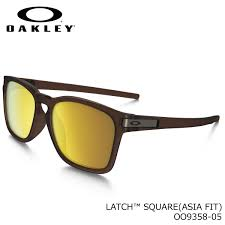 Oakley Sunglass Latch SQ Matte Rootbeer Color 24k Iridium Lens - OO9358-05