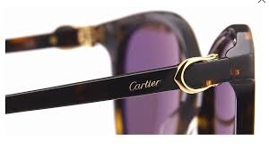 Cartier Sunglass - CT0003SA 002 55MM Round Stye Brown Lens Sunglass