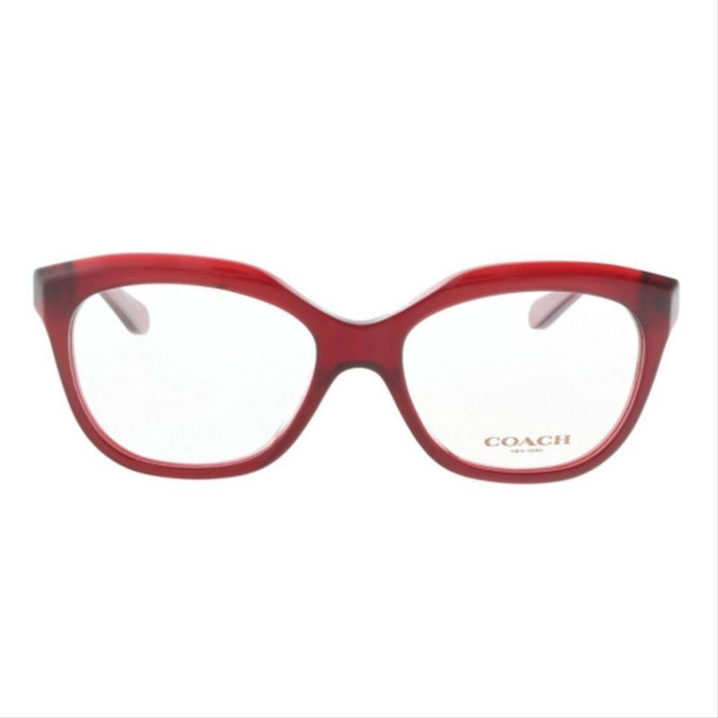 Coach Eyeglass | Square Shape Punple / Demo Customisable HC6096 5249 51MM