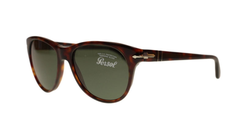 Persol Sunglass | Cat Eye Style Havana / Green Gradient PO3134S 24/31 54MM