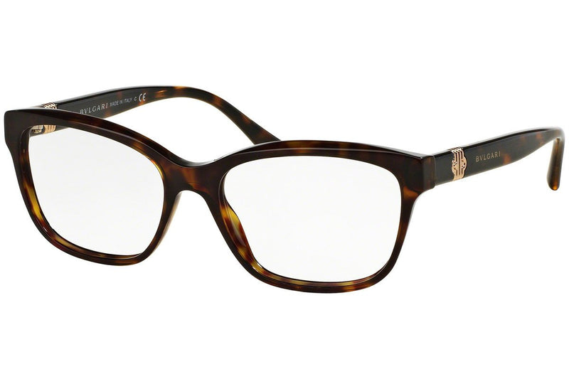 Bvlgari Eyeglass | Square Style Brown / Demo Customisable BV4115 504