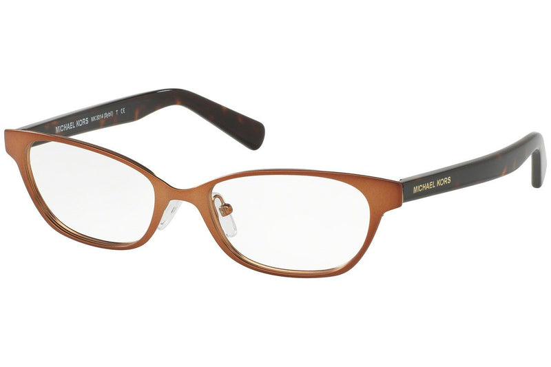 Michael Kors Eyeglass - Oval Style Sybil Model Matte Bronze / Demo MK3014 1147 50