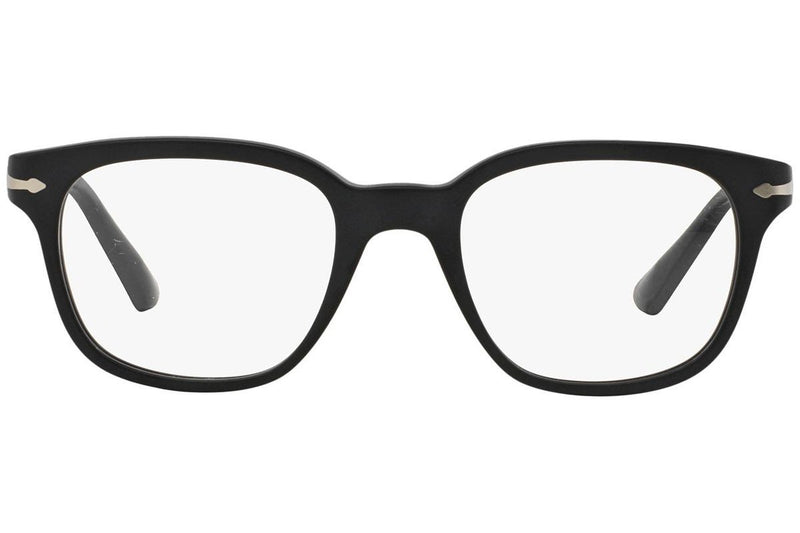 Persol Eyeglass | Square Style Matte Black / Demo PO3093V 9000 48MM