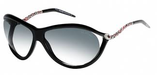 Roberto Cavalli sunglass - Caph 853S Oval Style with Grey Gradient Lens