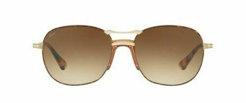Persol Sunglass | Square Style Havana Gold / Brown Gradient PO2449S 1075/51 56MM