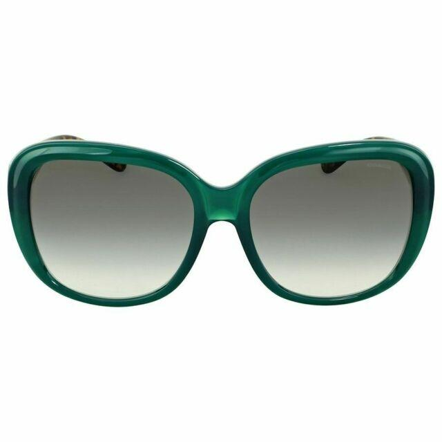 Coach Sunglass | Square Style Blue/Green/Tortoise Gradient HC8207 54518E 57MM