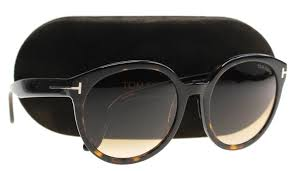 Tom Ford Sunglass Cat Eye Style Dark Havana Color - Women Sunglass Gradient Lens TF503 52F 55MM