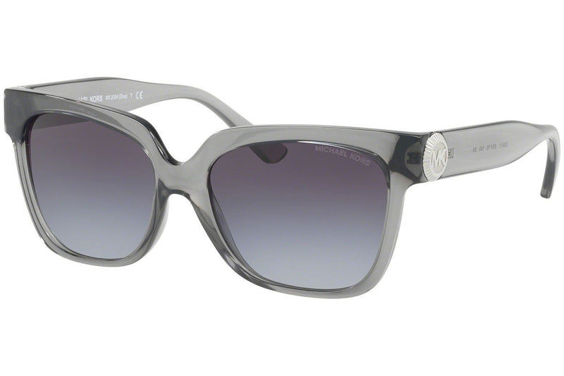 Michael Kors Sunglass | Square Style Transparent Grey / Grey MK2054 329911 55