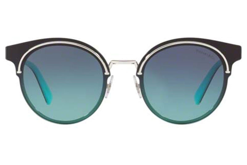 Tiffany & Co Sunglass | Round Style Silver TF3061 60019S 64