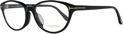 Tom Ford Eyeglass Cat Eye Style Shiny Black Frame Color - FT 5422 001 53