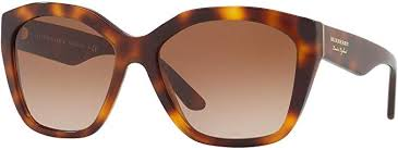 Burberry Sunglass Cat Eye Style  Light Havana Color Brown Lens - BE4261F 331613 57