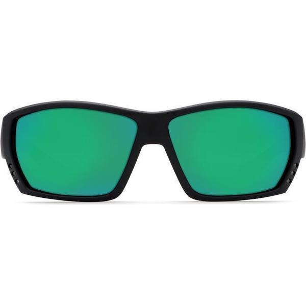 Costa Del Mar Sunglass TA01OGMGLP Tuna Alley Square Style - Men's Sunglass Blackout Frame