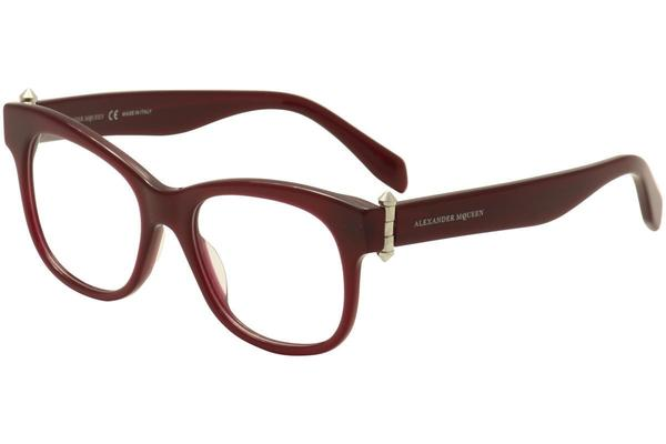 Alexander McQueen Eyeglass Cat-Eye Style with Demo Customiseable Lens M0005O 004