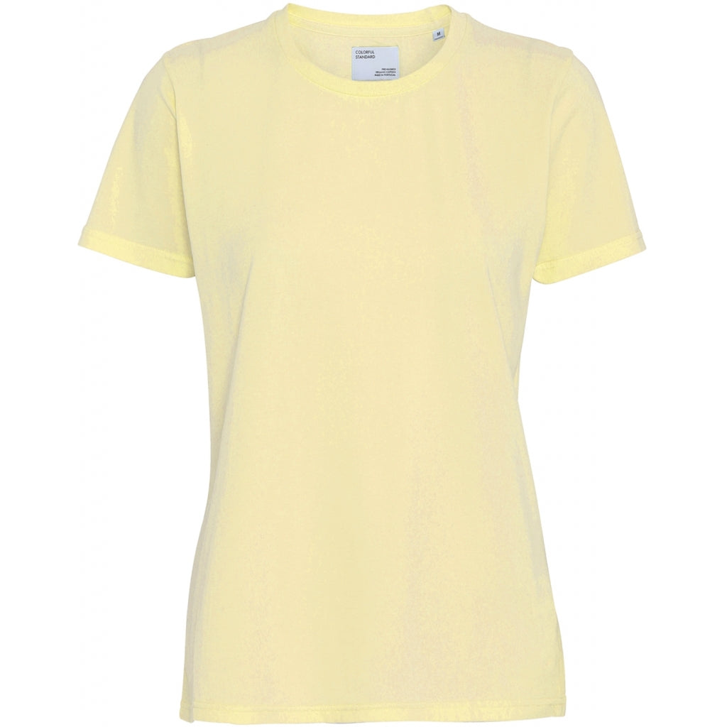 Colorful Standard / Women's Organic Tee / Soft Yellow