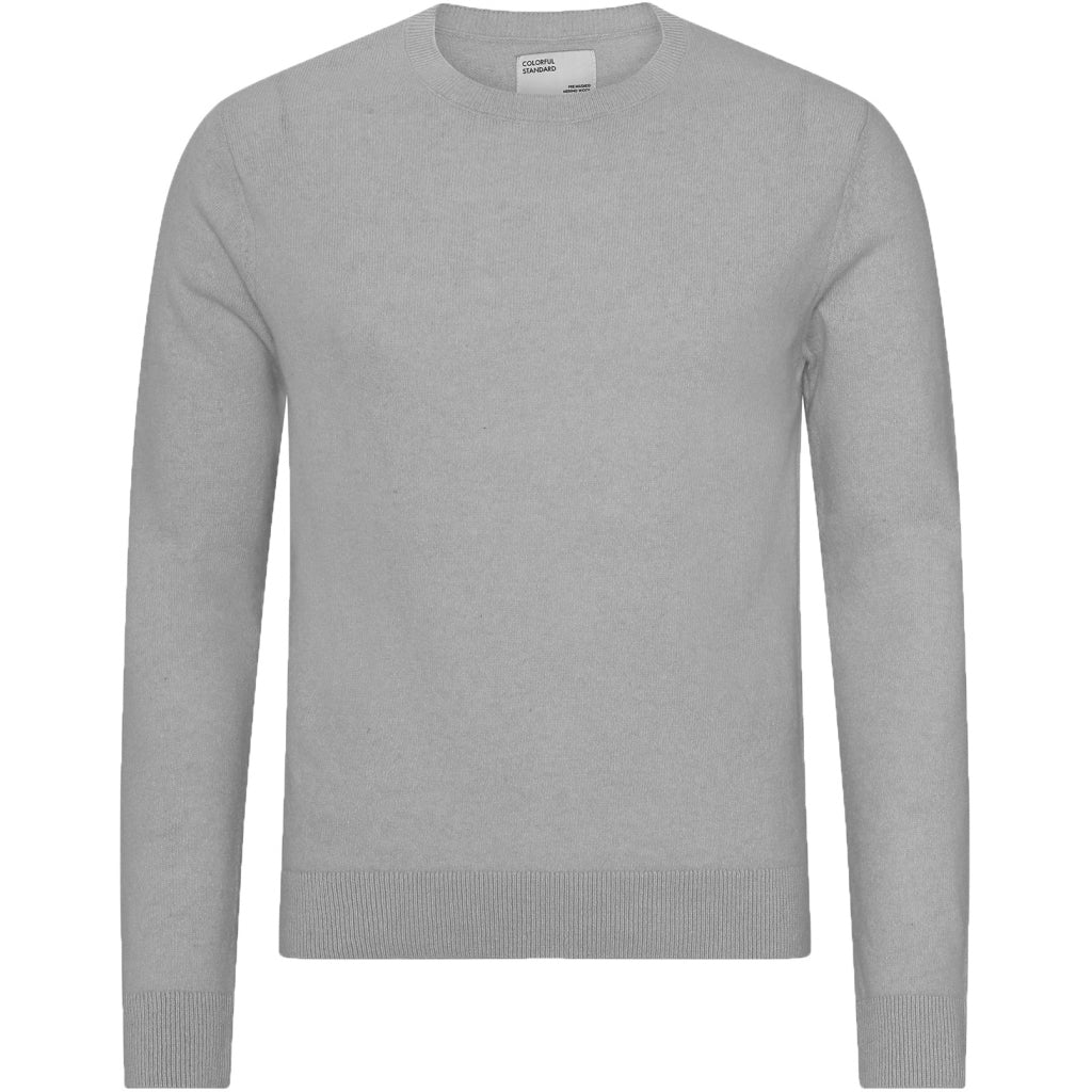 Colorful Standard / Mens Thin Merino Crewneck / Heather Grey
