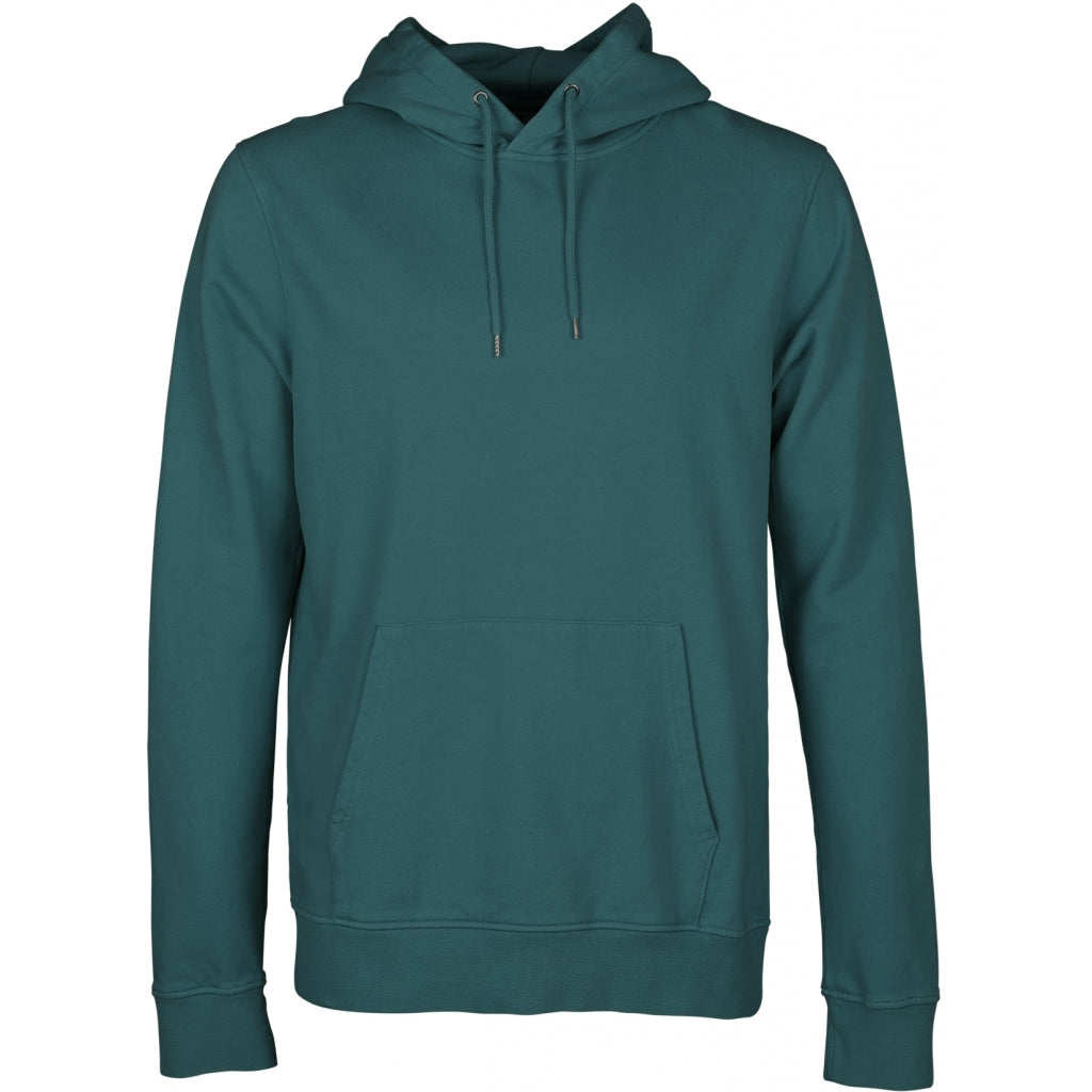 Colorful Standard / Organic Hoodie / Ocean Green