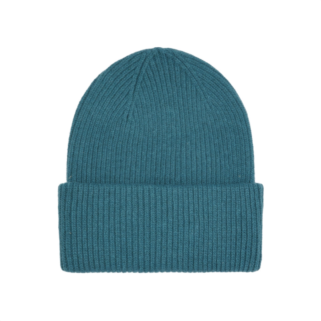Colorful Standard / Unisex Wool Hat / Ocean Green