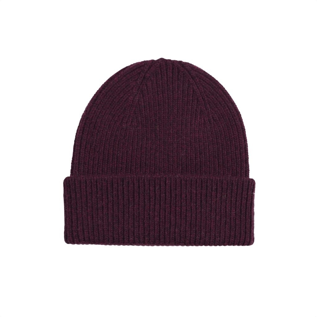 Colorful Standard / Unisex Beanie / Oxblood Red