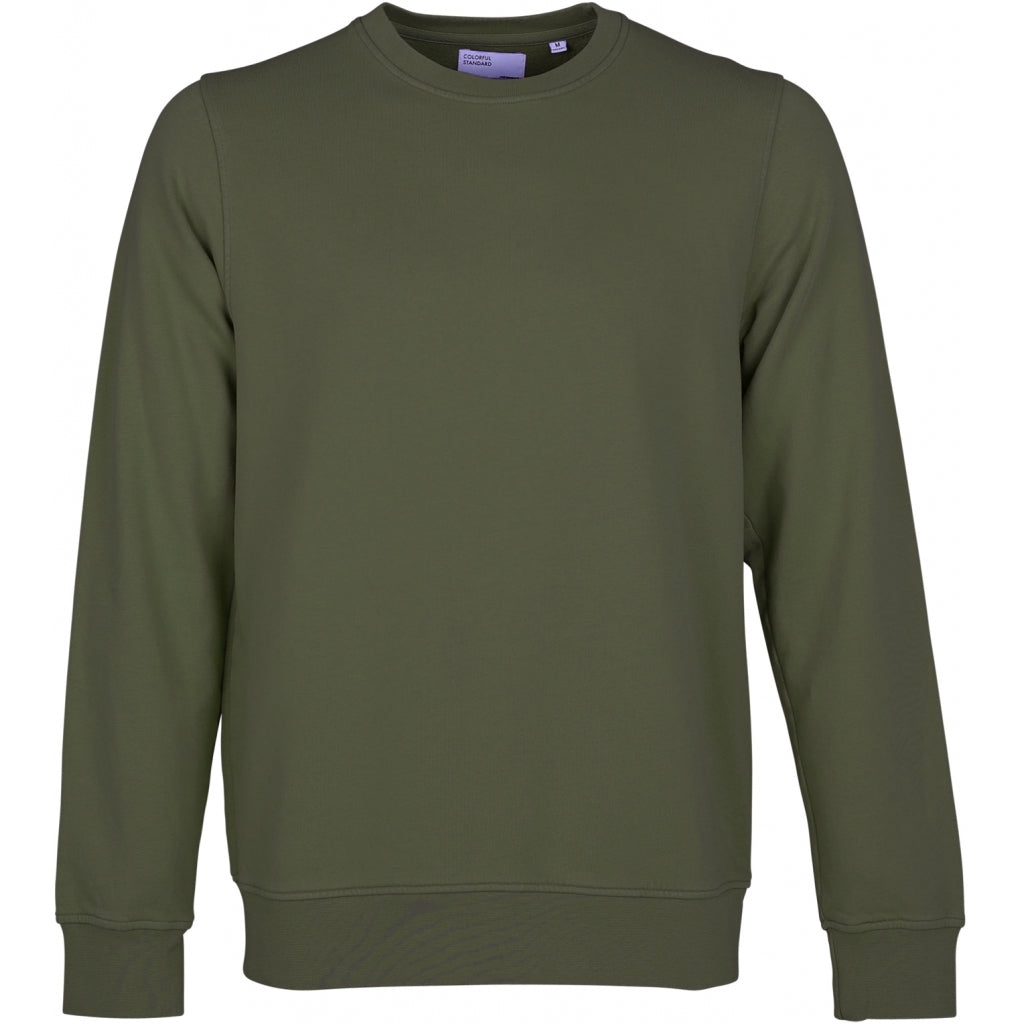 Colorful Standard / Organic  Crewneck / Seaweed Green