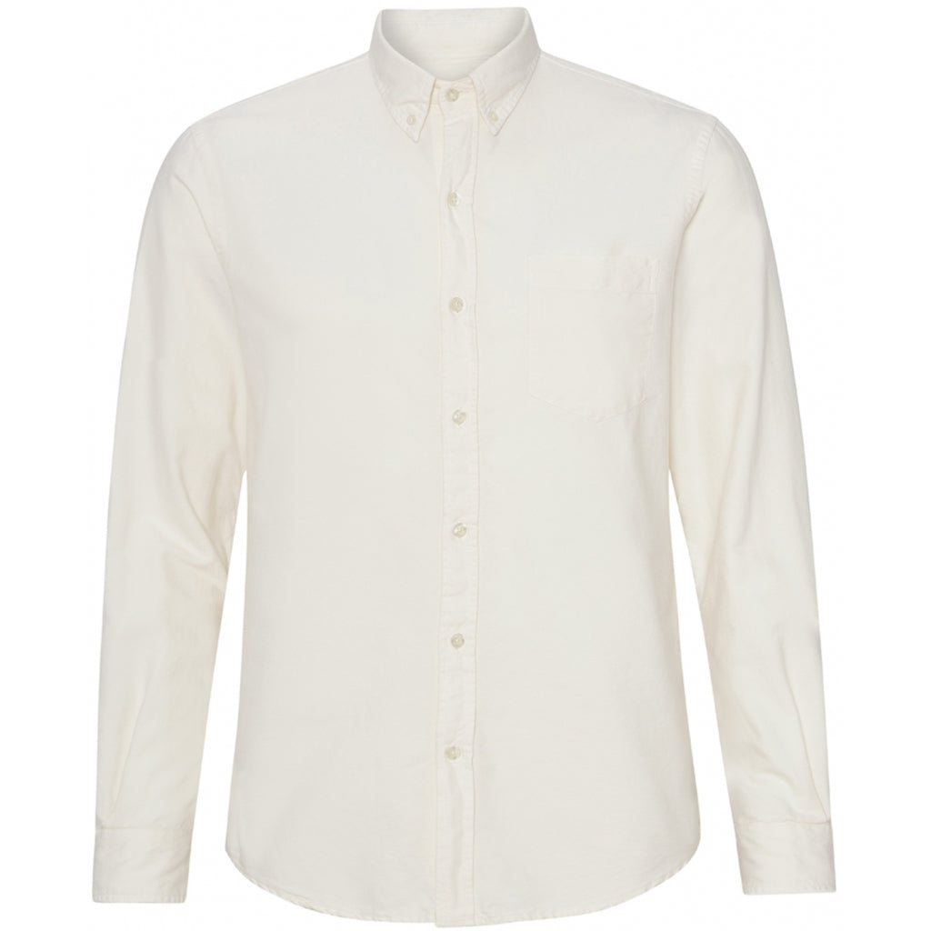 Colorful Standard / Organic Button Down Shirt / Ivory White