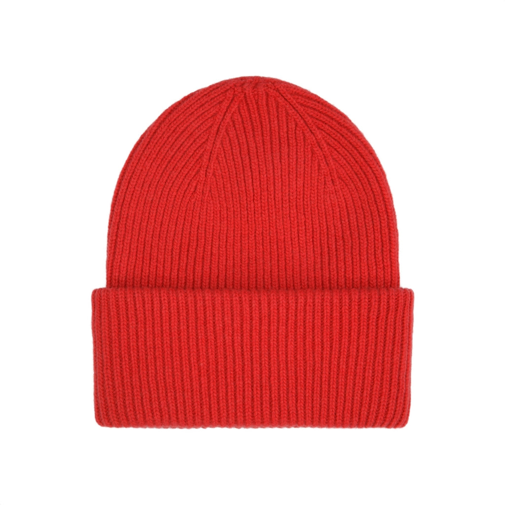 Colorful Standard / Unisex Wool Hat / Scarlet Red