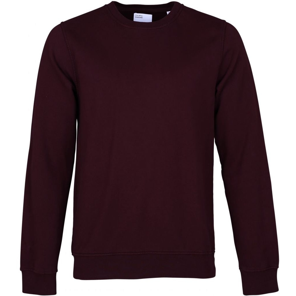 Colorful Standard / Organic  Crewneck / Oxblood Red
