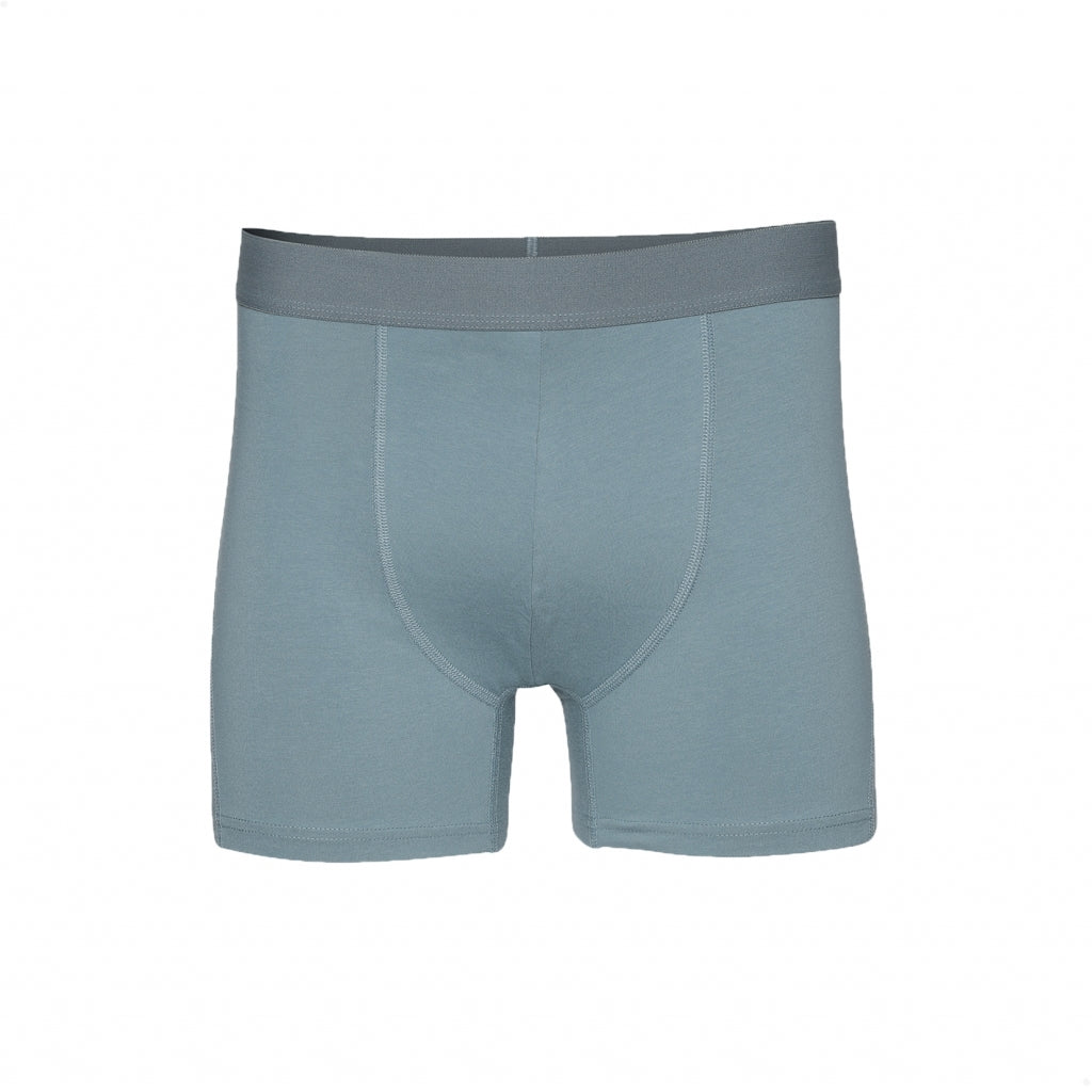 Colorful Standard // Mens organic boxer shorts - Stone Blue