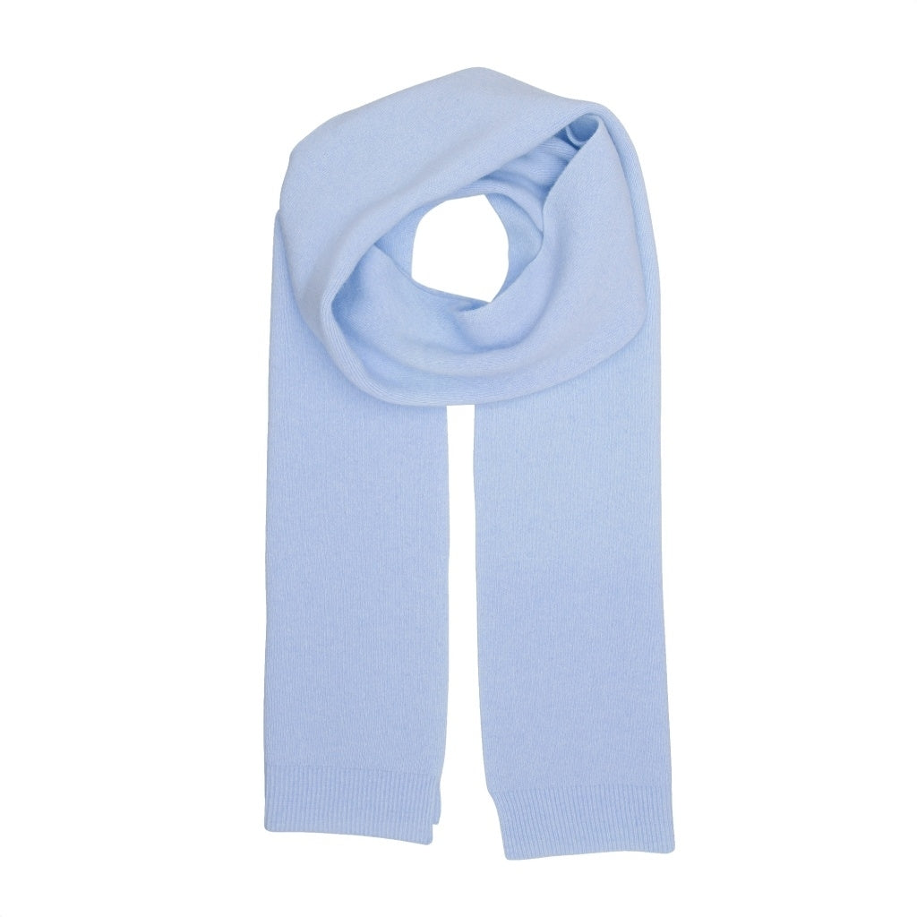 Colorful Standard // Unisex Merino Scarf / Polar Blue