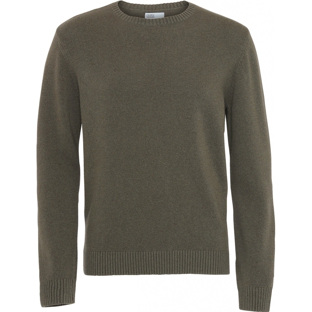 Colorful Standard / Mens Classic Merino Crewneck / Dusty Olive