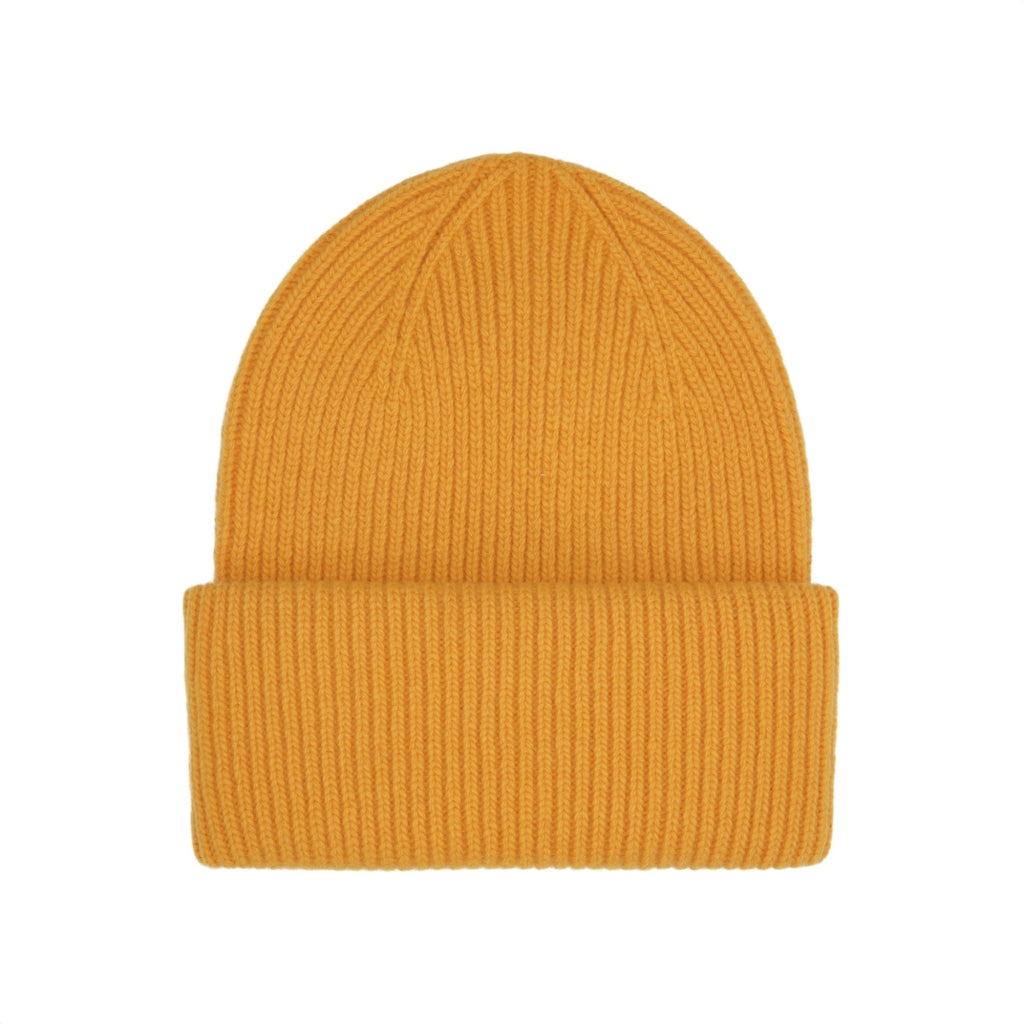 Colorful Standard / Unisex Wool Hat / Burned Yellow