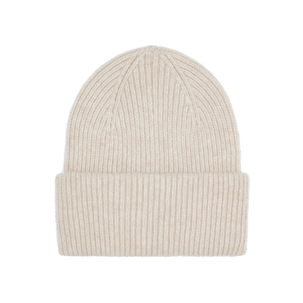 Colorful Standard / Unisex Wool Hat / Ivory White