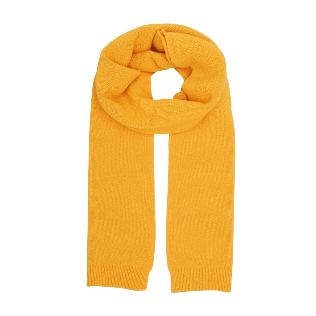 Colorful Standard // Unisex Merino Scarf / Burned Yellow