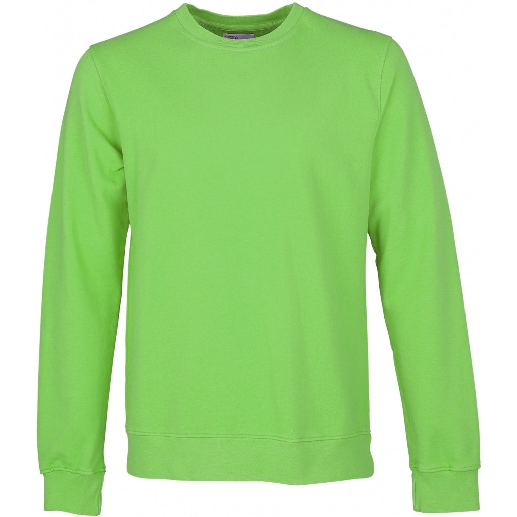 Colorful Standard / Organic  Crewneck / Neon Green