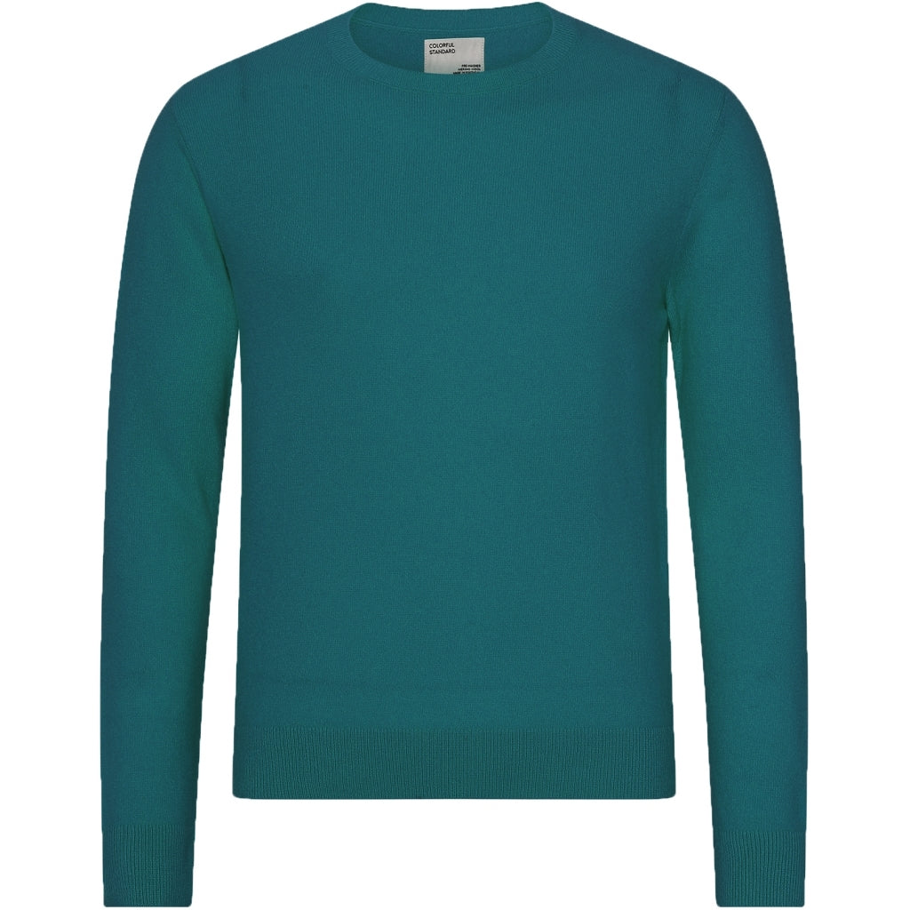 Colorful Standard / Mens Thin Merino Crewneck / Ocean Green
