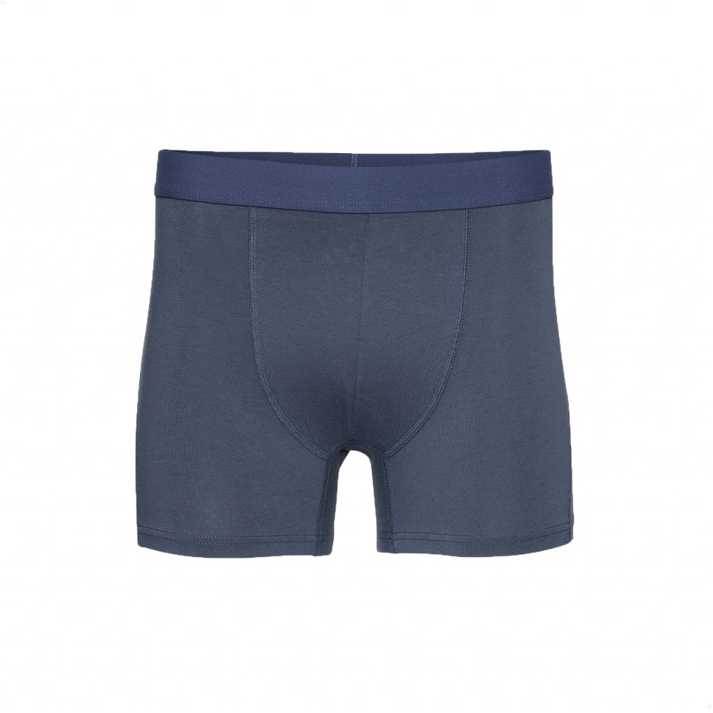 Colorful Standard // Mens organic boxer shorts - Petrol Blue