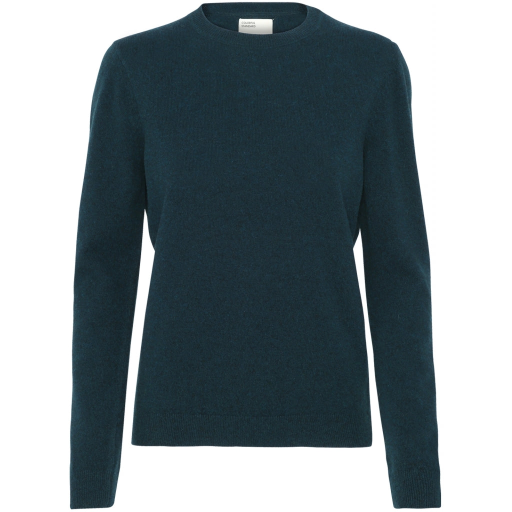 Colorful Standard / Women's Thin Merino Crewneck / Ocean Green
