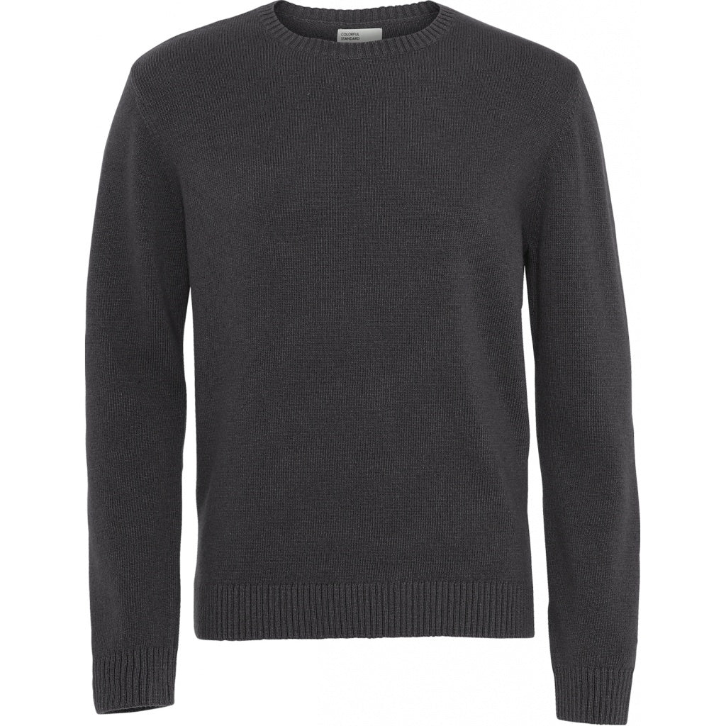 Colorful Standard / Mens Classic Merino Crewneck / Lava Grey