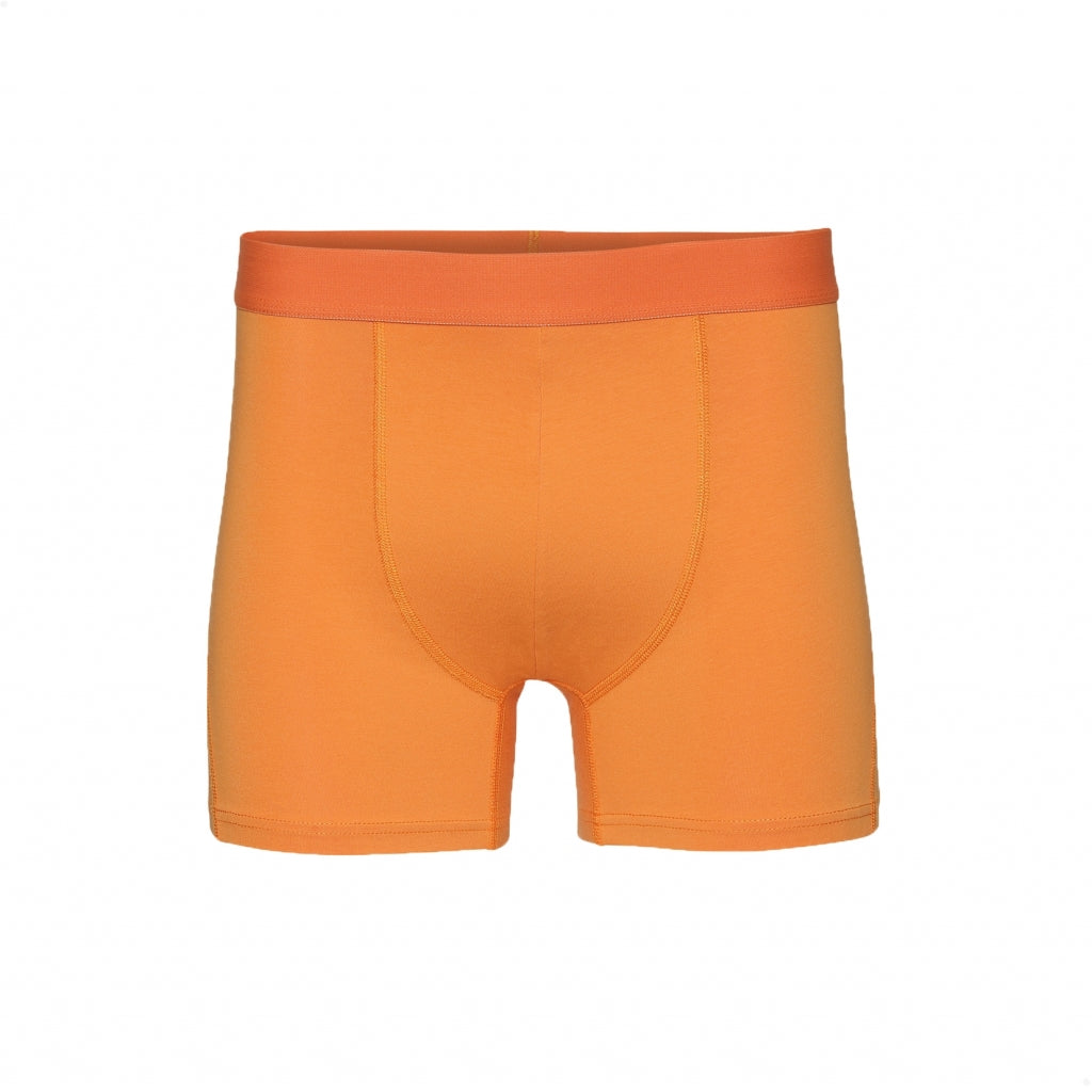 Colorful Standard // Mens organic boxer shorts - Sunny Orange