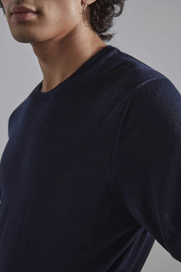 NN07 // Ted knit - navy