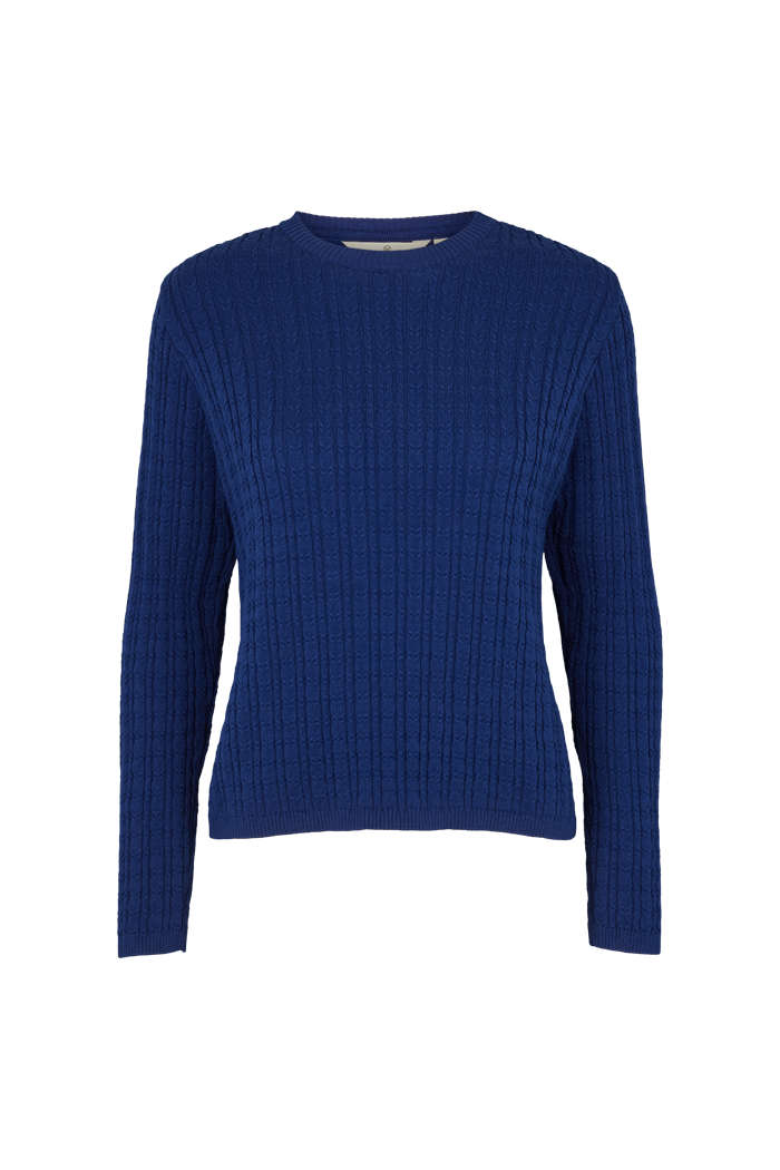Basic Apparel // Aline sweater - Blue depth