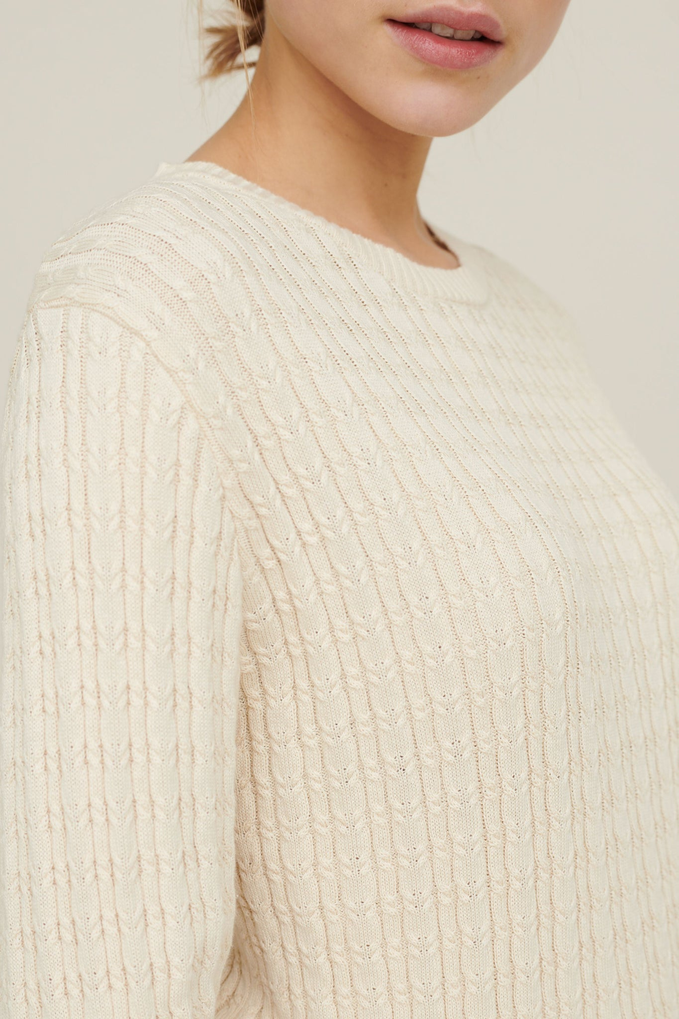Basic Apparel // Aline sweater - Birch