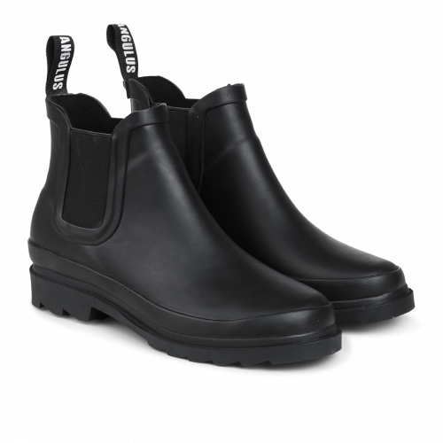 Angulus // 1051- Rubber Boots Wn - Black