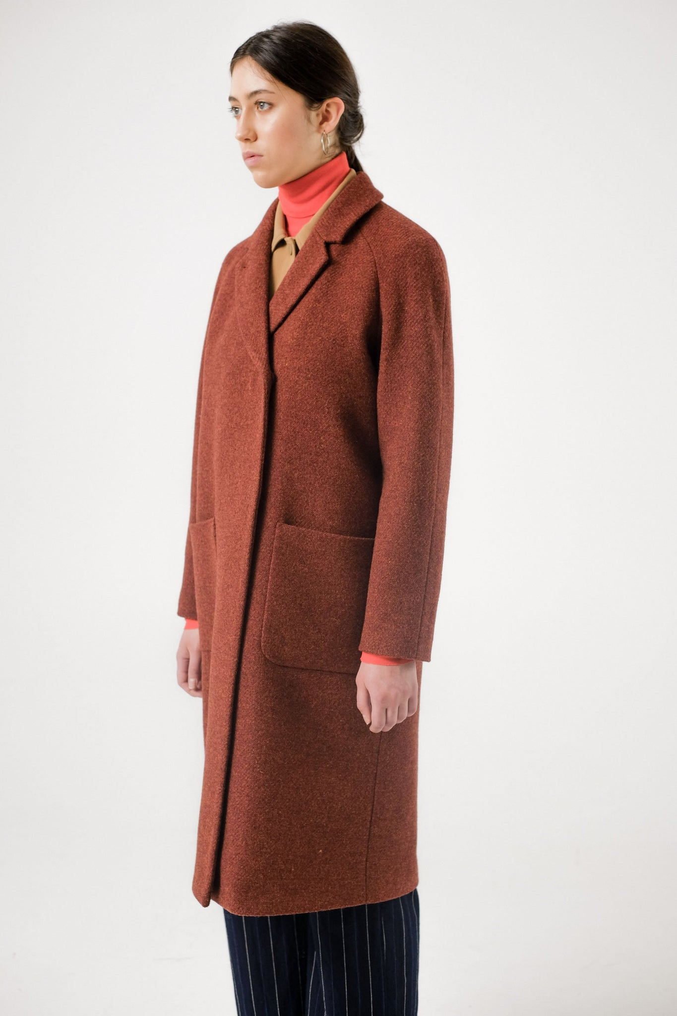 Brixtol // Deb coat - rust