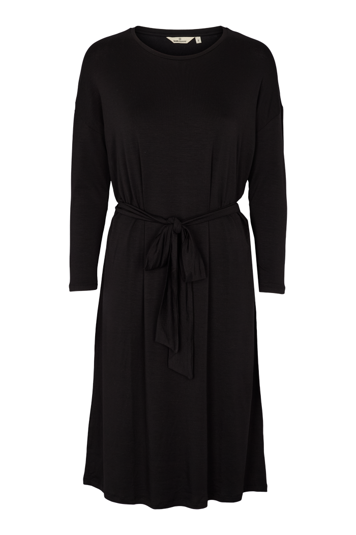Basic Apparel // Joline longsleeve dress - black